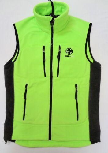 POLO RALPH LAUREN RLX Mens New Fleece Vest size S M L XXL SEE SIZE CHART $165