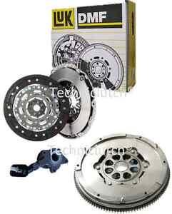 LUK-DOUBLE-MASSE-DMF-Volant-et-embrayage-kit-avec-Csc-Pour-Ford-Mondeo-2-2-TDCI