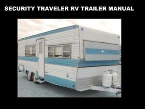 security traveler camper trailer manuals 255pg w rv appliance rh ebay com rv refrigerator manual RV Propane Appliances