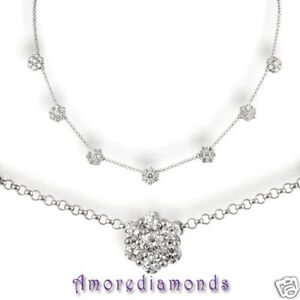 5-4-ct-F-VS2-49-round-ideal-diamond-7-flower-fashion-necklace-14k-white-gold-18-034