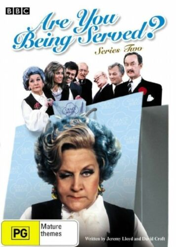 1 of 1 - Are You Being Served? : Series 2 (DVD, 2006) VGC Pre-owned (D104)