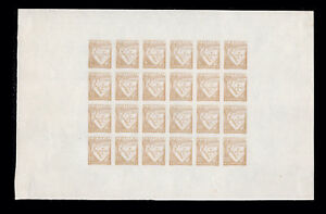 Details about 1931 Portugal Lusiadas  Complete PROOF Sheet with DIFFERENT  VALUES Bistre Color