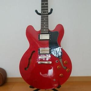 Epiphone-ES-335-Dot-vintage-popular-electric-guitar-red-japan-EMS-F-S