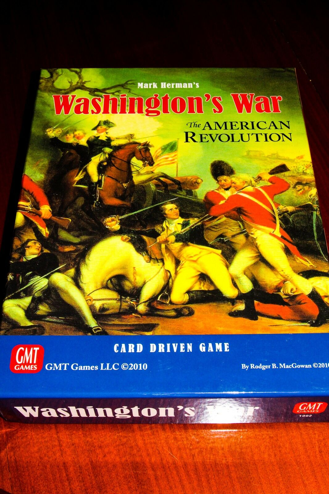 WASHINGTON WAR - WARGAME GMT- COMME NEUF - EXCELLENT CONDITION - ENGLISH VERSION