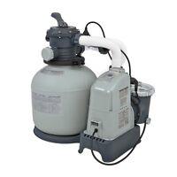 Intex 1600 Gph Saltwater System & Sand Filter Pump Swimming Pool Set | 28675eg on sale