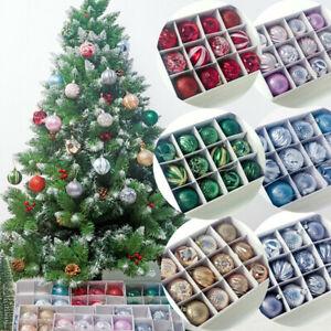 12pcs-Set-Christmas-Tree-Ball-Bauble-Hanging-Xmas-Home-Party-Ornament-Decor-55mm