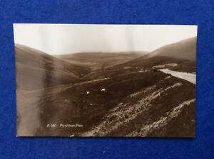 Sepia postcard Cardiganshire Plynlimon Pass moorland view - Blackburn, Lancashire, United Kingdom - Sepia postcard Cardiganshire Plynlimon Pass moorland view - Blackburn, Lancashire, United Kingdom