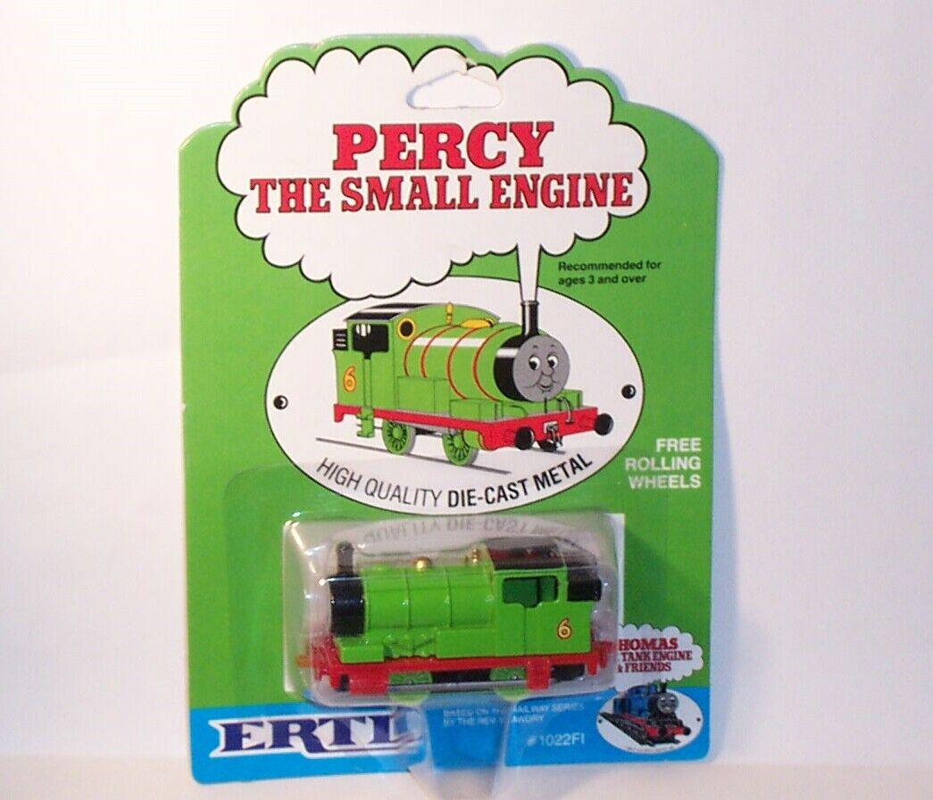 ERTL vintage 1984 question TV related Thomas the Tank Engine  Percy  - MOC