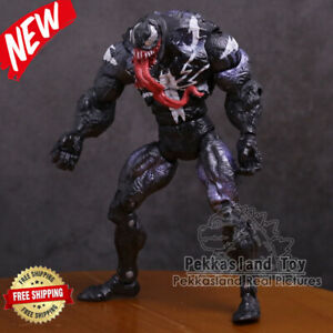 NEU-Marvel-Spider-Man-Venom-Revoltech-Series-PVC-Actionfigur-Spielzeug-7-Zoll-18cm