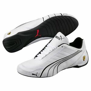NIB-Men-039-s-Puma-SF-Ferrari-Future-Kart-Cat-Motorsport-Shoes-ULTRA-306170-03-Wh