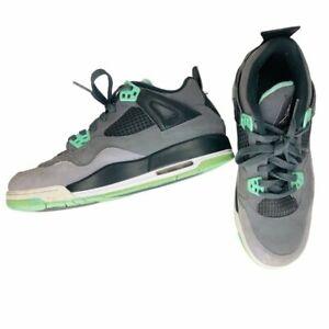 Details about AIR JORDAN 4 RETRO Shoes Mint Green Glow Grey 408452 033 Size 7Y Nike
