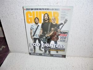 Image Is Loading Guitar World Magazine December 2017 Foo Fighters