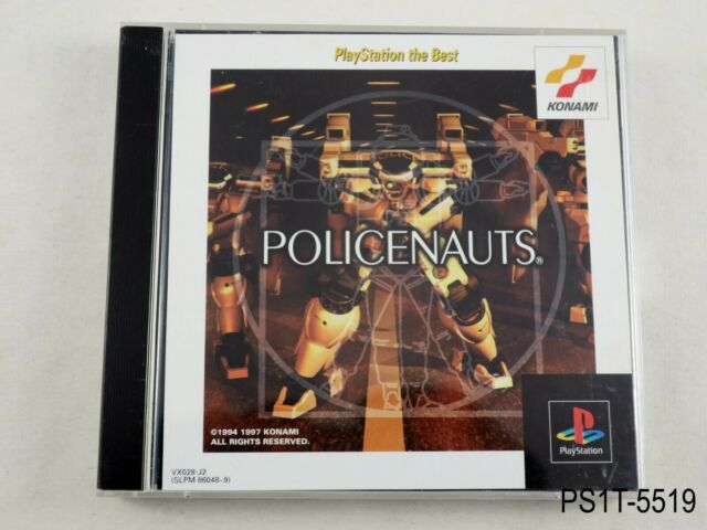 Policenauts Best Playstation 1 Japanese Import PS1 Kojima Japan PS US Seller B