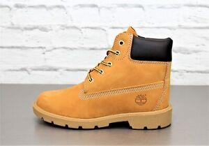 Details zu Timberland TB010960 Boots Damen Kinder Stiefel Weizen Leder Boot Outdoorstiefel