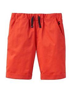 TOM-JOULE-Shorts-Hose-orangerot-98-104-110-116-122-128-134-140-146-152-NEU