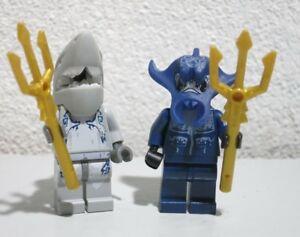 Baukästen & Konstruktion Manta Warrior Lego Minifigur Figur Atlantis Neu LEGO Minifiguren