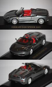 Ixo-Ferrari-F430-Spider-2005-Anthracite-1-43-FER019