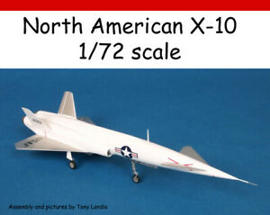 North-American-X-10-resin-kit-1-72-scale