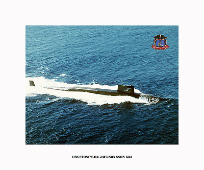 USS ANDREW JACKSON SSBN 619 US Naval submarine USN Navy -Boomer