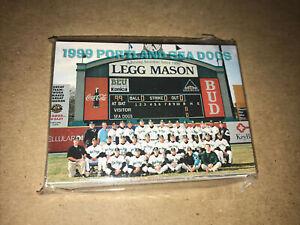 1999 Portland Seadogs Complete Team Card Set! Florida Marlins