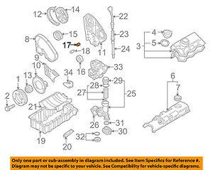 VW VOLKSWAGEN OEM 2015 Jetta Engine Parts-Roller 03L109244D | eBayeBay