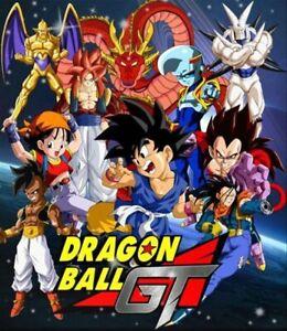 Dragon Ball Gt Dvd Serie Completa En Español Más La Película 100 Años Después Ebay