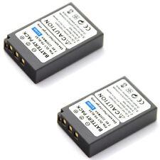 2x Battery for Olympus BLS-5 BLS-50 PS-BLS5 OM-D E-M10 PEN E-PL2 E-PL6 Camera