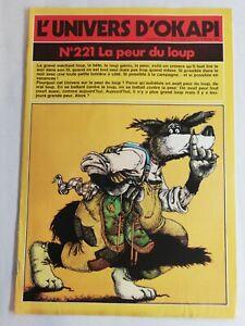 N61 Rivista Universo Okapi N° 221 La Paura Del Louvre, Die Avete Di Grandi Dente