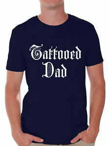 Tattooed-Dad-Tshirt-for-Men-Best-Dad-Gifts-Inked-Dad-T-Shirt-Best-Dad-Ever-Shirt