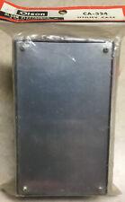 Utility Box Project Case Enclosure 6 X 3 34 X 2 Vintage Old Stock
