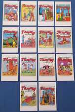 FOURTEEN TAMMY AND JUNE GIRL COMICS POSTCARDS FEATURING 1970s COVERS MINT