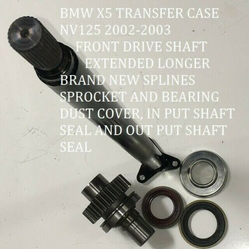 BMW X5  TRANSFER CASE NV125 DRIVE SHAFT  SPROKET SEALS  BEARING DUST COVER