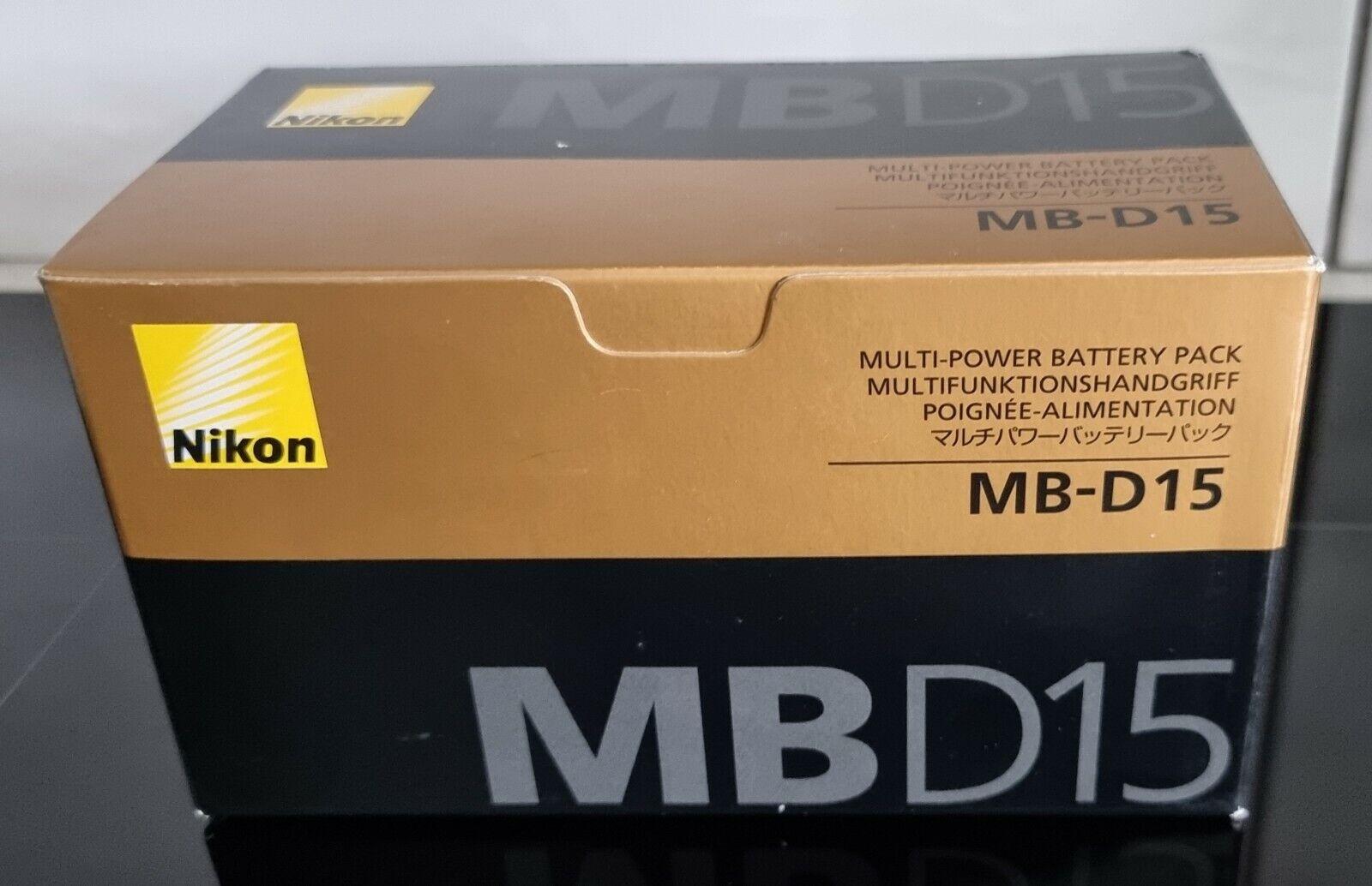 Genuine Nikon MB-D15 Battery Grip for Nikon D7100 - Boxed