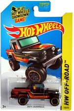 2014 Hot Wheels #138 HW Off-Road HW Hot Trucks Jeep Scrambler black