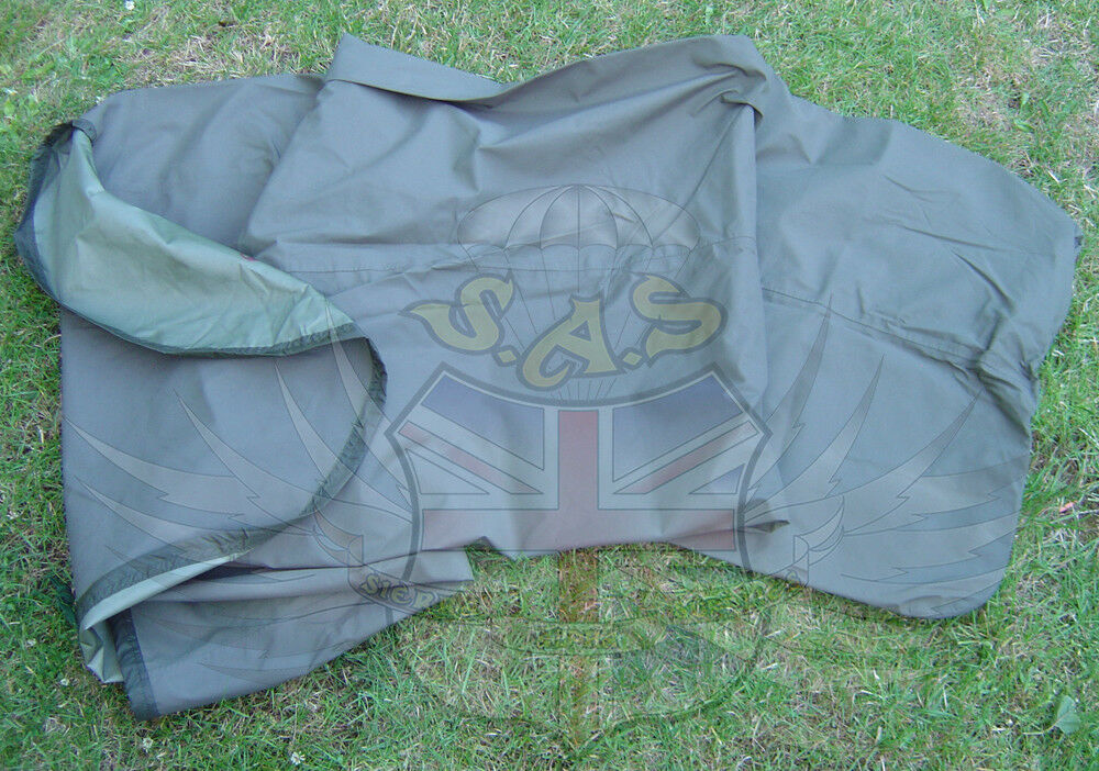 Genuino  Ejército Británico súperávit verde Oliva Gore-Tex Impermeable Transpirable Bivi Bolsa  entrega rápida