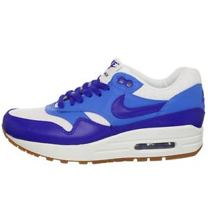 NIKE Air Max 1 One Vintage Retro Classic sneaker Sport schoenen blauw 555284 105 WOW