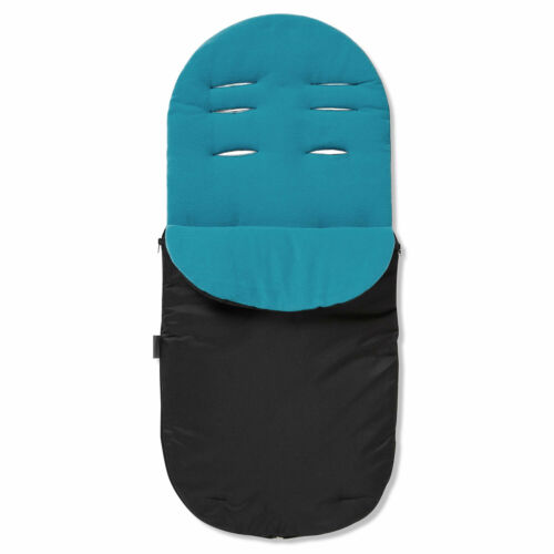 Footmuff Turquoise Cosy Toes Compatible with Venicci Silver