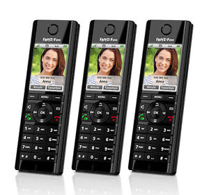 avm fritz fon c5 trio schnurloses telefon f r internet und festnetztelefonie ebay. Black Bedroom Furniture Sets. Home Design Ideas