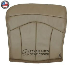 2000-2003-Ford-F150-Lariat-2WD-4X4-FX4-Passenger-Bottom-Leather-Seat-Cover-Tan