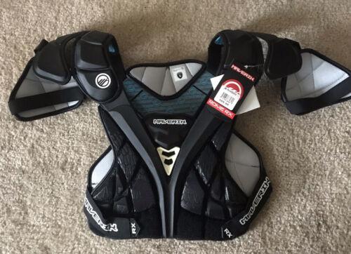 Lacrosse Maverik Rome RX Shoulder Pad Lacrosse Black NWT MSRP $89.99.