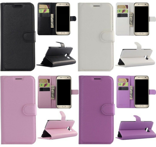 Cover, t. Samsung, Galaxy S6 & S6 Edge, Læder cover med…