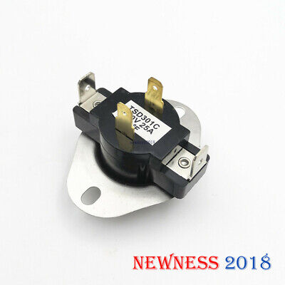 306910 // 3-6910 3387134 Thermostat Dryer L-155-25 Fsp Whirlpool Wp3387134