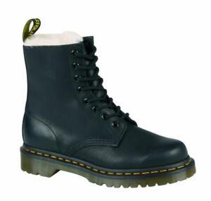 DR. MARTENS SERENA Boots Stiefel Docs Schwarz Black 8 Loch