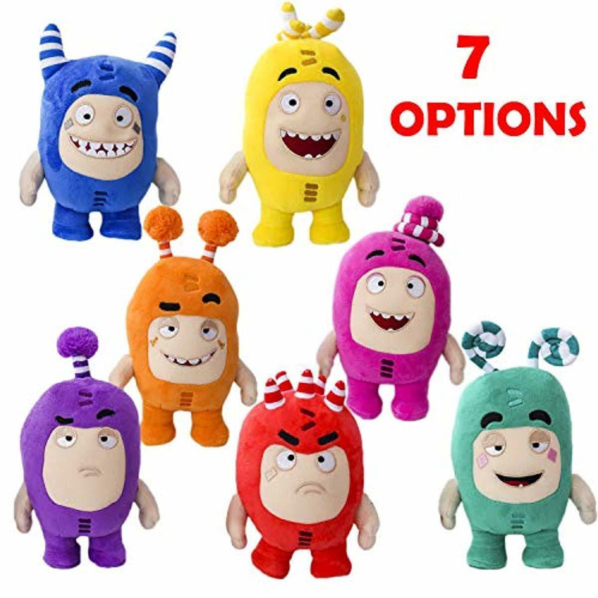 WILMONE Plushs Favorite Character morbido giocattolo Stud giocattoli (7 pollici)(7 pcs) Fuse,