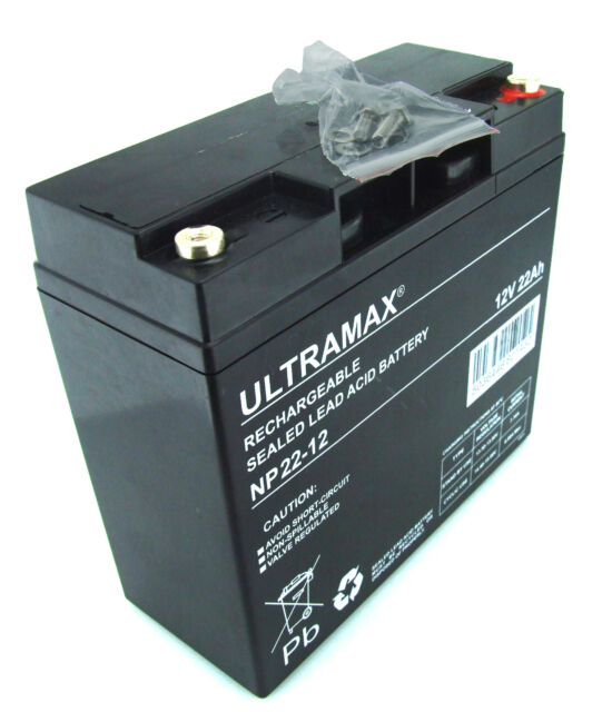Tondeuse Batterie ultramax 12V 22Ah - (Remplacement F19-12B)