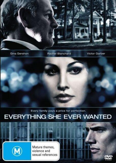 Everything She Ever Wanted Gina Gershon Rachel Blanchard 2009 Mini Series R4
