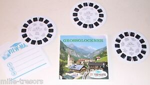 Pochette-Stereo-VIEW-MASTER-3-Disques-GROSSGLOCKNER-AUTRICHE