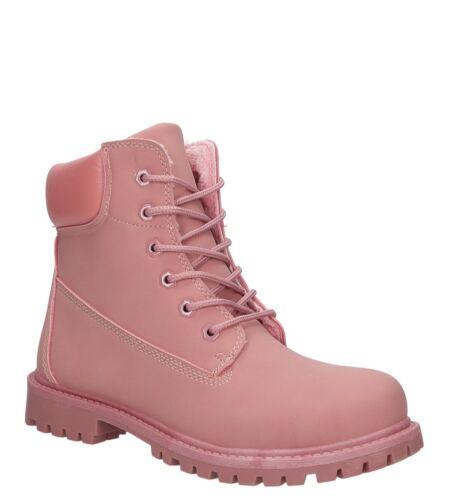 Damen Stiefeletten Boots Winterschuhe Flach Warm Gr 36-41 NEU