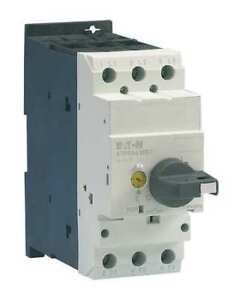 Eaton Xtpr016dc1 Manual Mtr Protector,16A,Rotary,Frame D