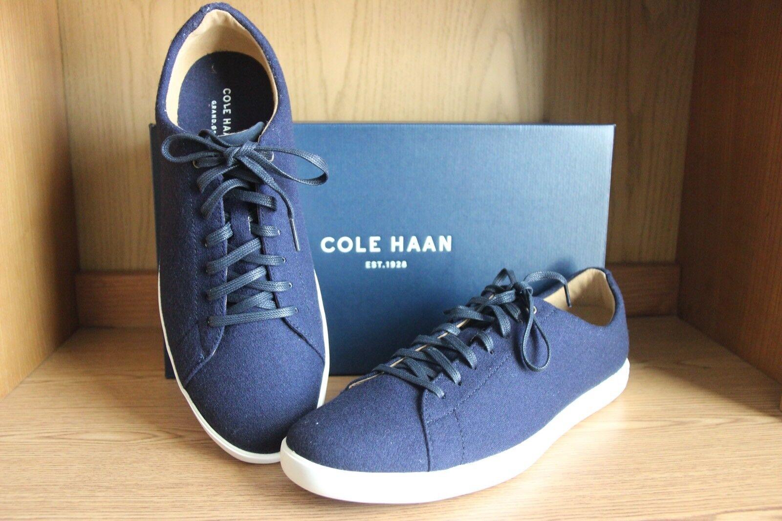 Cole Haan Grand Crosscourt II Wool Sneaker shoes Men blueee Size 12  C27015